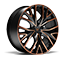 """19"""" Performance Sport Black and Copper"""